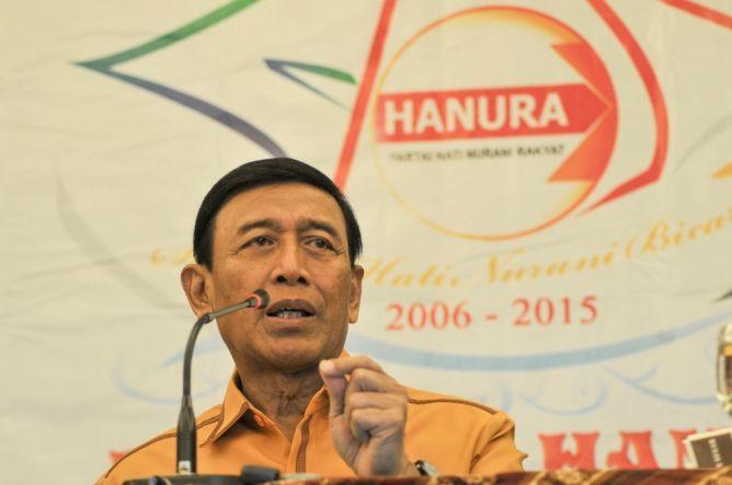 Ketua Dewan Pembina Hanura Wiranto