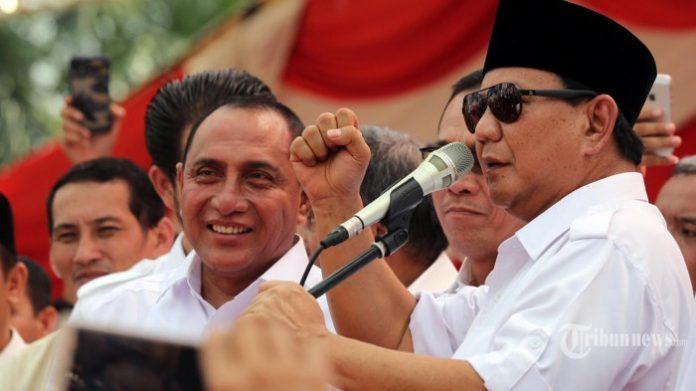 Ketum Partai Gerindra, Prabowo Subianto