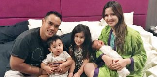 Nia Ramadhani dan Keluarga.