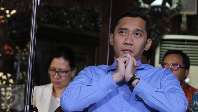 Ketua Fraksi Partai Demokrat Edhie Baskoro Yudhoyono