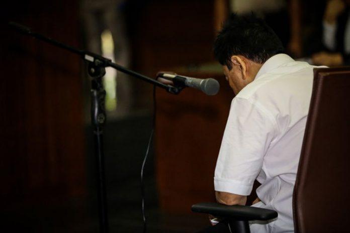 Tersangka kasus korupsi proyek e-KTP, Setya Novanto
