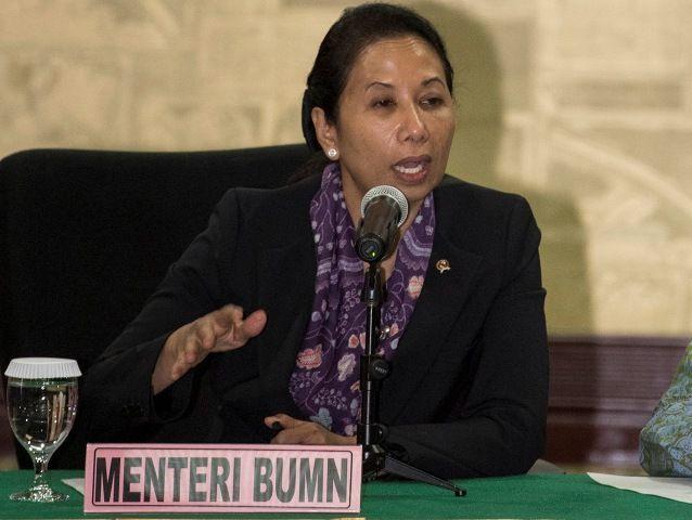 Menteri BUMN, Rini M Soemarno
