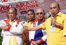 Bakal calon Gubernur Maluku dan Wakil Gubernur Maluku, Said Assagaff - Andareas Rentanubun.