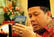 Fahri Hamzah Wakil Ketua DPR RI.