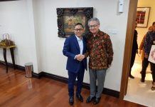 Ketua MPR Zulkifli Hasan menerima kehadiran Duta Besar Jepang untuk Indonesia Mashafumi Ishii,
