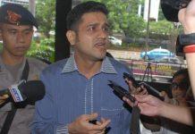 Bekas Bendahara Umum Partai Demokrat M. Nazaruddin