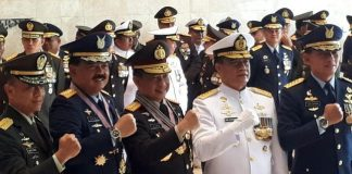 Kapolri Terima Bintang Anugerah Kehormatan dari 3 Matra TNI