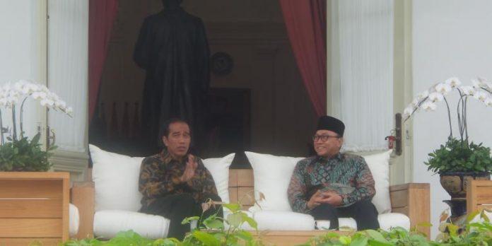 Presiden Joko Widodo dan Zulkifli Hasan