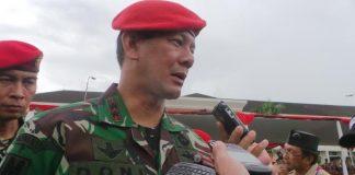 Komandan Kopassus Mayjen TNI Doni Monardo