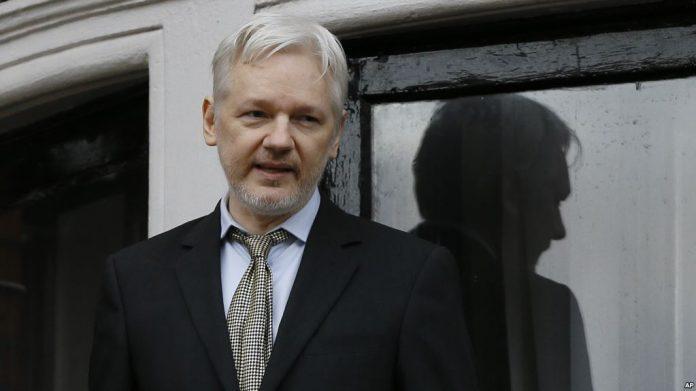 Pendiri Wikileaks Julian Assange