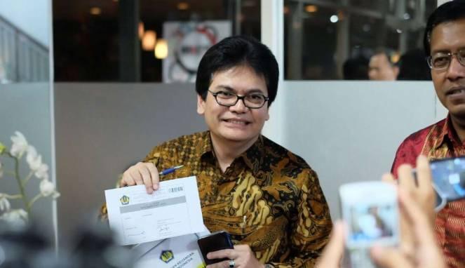 Direktur Jenderal Penyelenggaraan Pos dan Informatika Ahmad M. Ramli