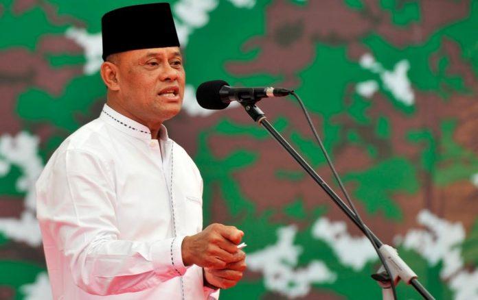 Eks Panglima TNI Jenderal Gatot Nurmantyo