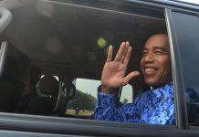 Jokowi sambangi provinsi Banten