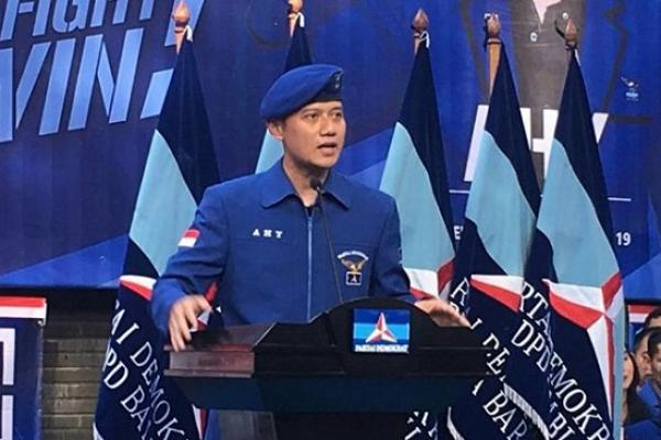 Ketua Komando Satuan Tugas Bersama (Kogasma) Partai Demokrat Agus Harimurti Yudhoyono