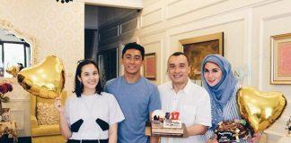 Chelsea Islan dan keluarga Marini Zumarnis