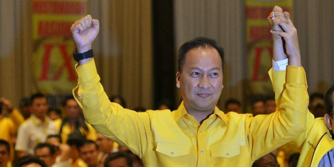 Plt Ketua DPD Golkar DKI Agus Gumiwang Kartasasmita