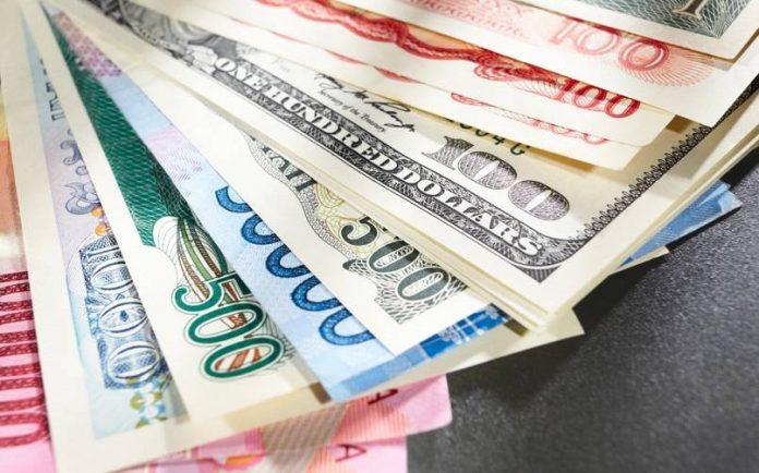 ilustrasi mata uang asing