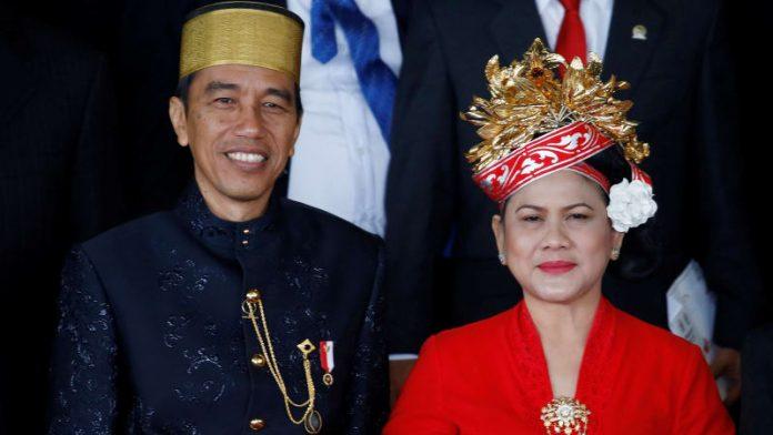 Joko Widodo dan Iriana Widodo.
