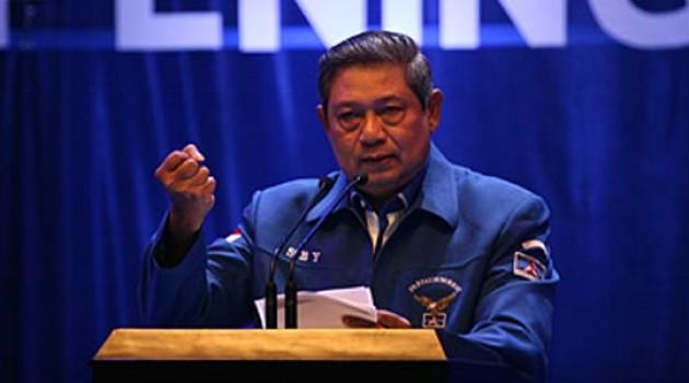 Ketum Demokrat Susilo Bambang Yudhoyono