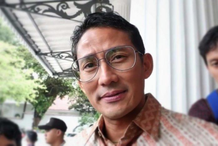 Wakil Gubernur DKI Jakarta Sandiaga Uno