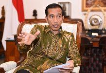 Presiden RI Jokowidodo Saat Wawancara Eksklusif Di Istana Bogor