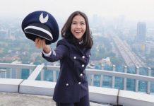 Tania Artawidjaya, Pilot Muda Garuda Indonesia