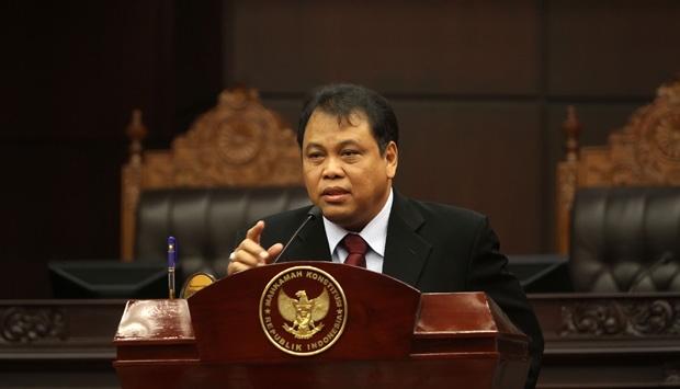 Ketua Mahkamah Konstitusi Arief Hidayat
