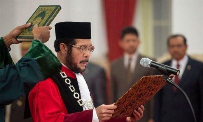 Anwar Usman Pimpinan Baru MK