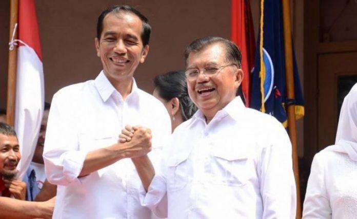 Presiden Jokowidodo Dan Wakil Presiden Jusuf Kalla