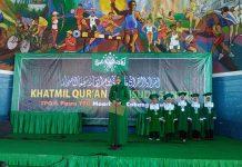 Bupati Jember dr. Hj. Faida, MMR Saat Menghadiri Wisuda Santri TPQ Maarif NU