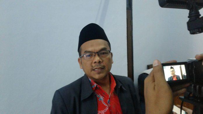 Ketua Panwaslu Kabupaten Ciamis Uce Kurniawan