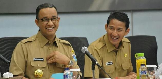 Pemerintah Provinsi (Pemprov) DKI Jakarta, Anies Baswedan Dan Sandiaga Uno