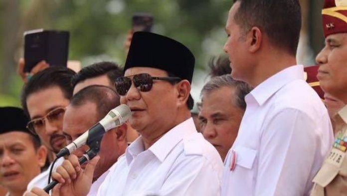 Ketum Partai Gerindra Prabowo Subianto