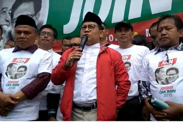 Ketum PKB Muhaimin Iskandar (Cak Imin) terus bergerak menuju Pilpres 2019