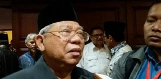 Ketua Umum Majelis Ulama Indonesia (MUI) Ma'ruf Amin