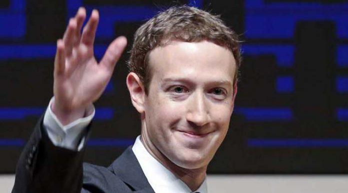 CEO dan Chairman Facebook Mark Zuckerberg