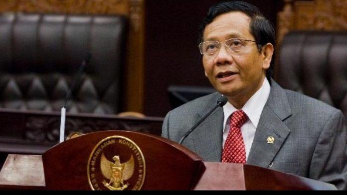 Mantan Ketua Mahkamah Konstitusi (MK) Mahfud MD