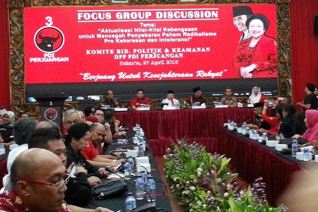 PDIP Gelar Diskusi FGD