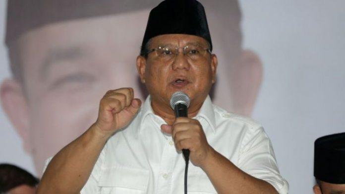 Ketua Umum DPP Partai Gerindra, Prabowo Subianto