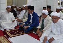 Prewsiden Jokowi Saat Bertemu Alumni 212
