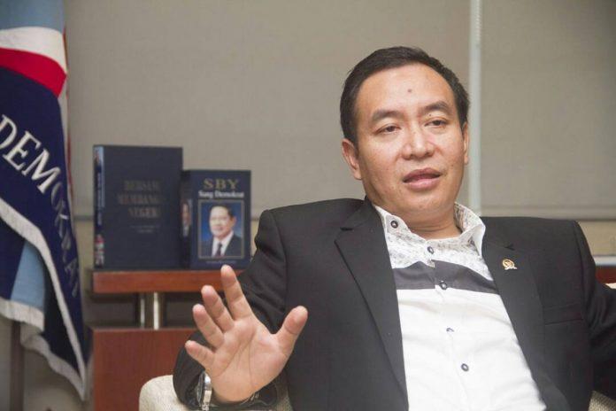 Sekretaris Fraksi Partai Demokrat DPR RI Didik Mukrianto