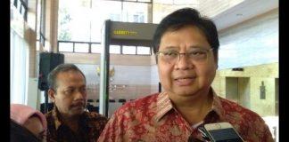 Menteri Perindustrian Dan Ketua Umum Pratai Golkar Airlangga Hartarto