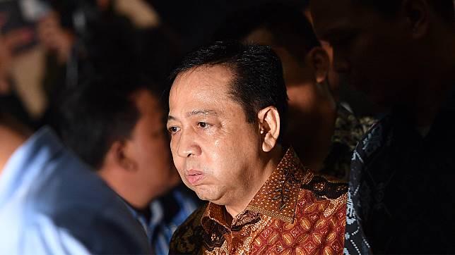 Mantan Ketua Dewan Perwakilan Rakyat (DPR), Setya Novanto