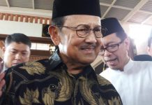 Presiden ke-3 Republik Indonesia (RI) BJ Habibie