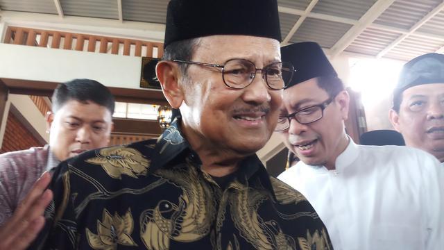 Presiden ke-3 Republik Indonesia (RI) BJ Habibie