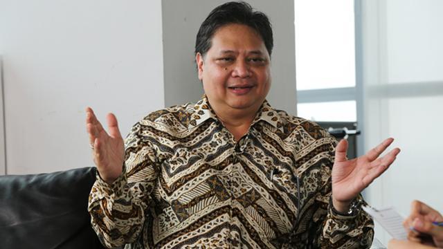 Menteri Perindustrian (Menperin) Airlangga Hartarto