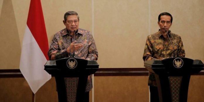 Susilo Bambang Yudhoyono SBY dan Joko Widodo