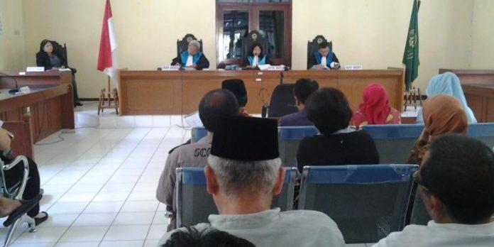 Majelis Hakim Pengadilan Tata Usaha Negara DKI Jakarta