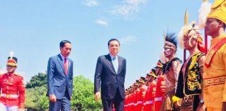 Jokowi Terima Kunjungan PM China