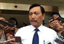 Menteri Koordinator bidang Kemaritiman Luhut Panjaitan